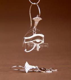 Oko Horusa - kolczyki