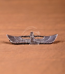 Protective wings pendant IV