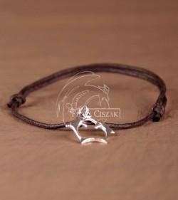 couple of dolphins+bracelet