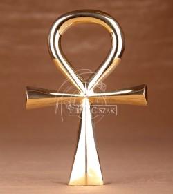 Klucz Nilu Mosiądz 18.5cm