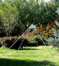 pyramid skeleton brass...