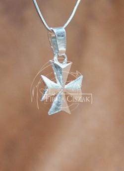 Krzyż  Maltański 2 cm