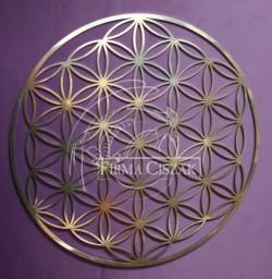 Kwiat Życia metal 13cm