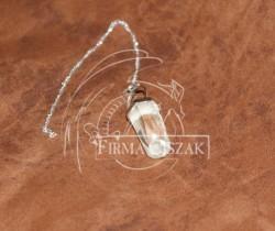 pendulum crystal+ curb silver