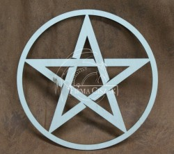 Pentagram drewno 19cm