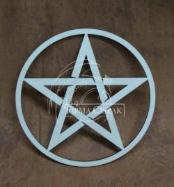 Pentagram drewno 15cm