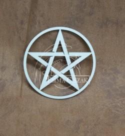 Pentagram drewno 10cm