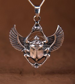 Scarab with Protective wings