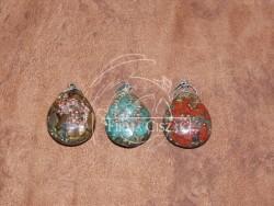 Orgonite jewelry,4 cm high