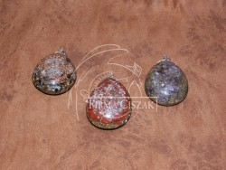 Orgonite jewelry, 7.5 cm high