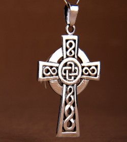 Celtic cross pendant II