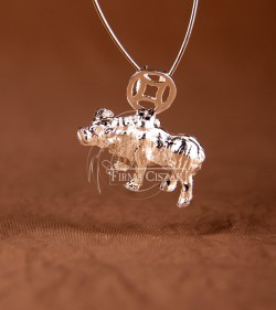 Chinese character pendant...