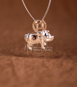 Chinese character pendant -...