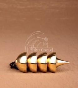Wahadło Ozyrys mosiądz 7,5 cm