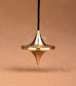 pendulum ufo brass 2,8cm