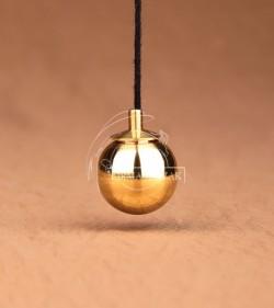 pendulum ball brass 2cm