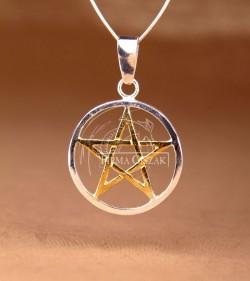 pentagram gilded star