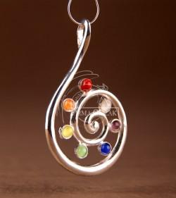 spiral chakras