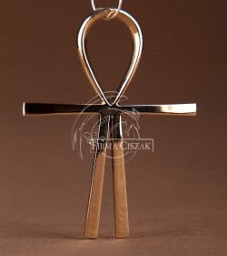Atlantis cross brass 6,8cm