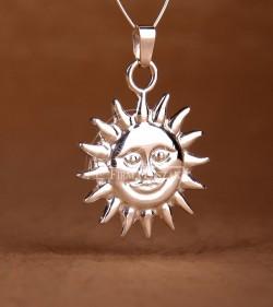 Słońce Wisior Duży
